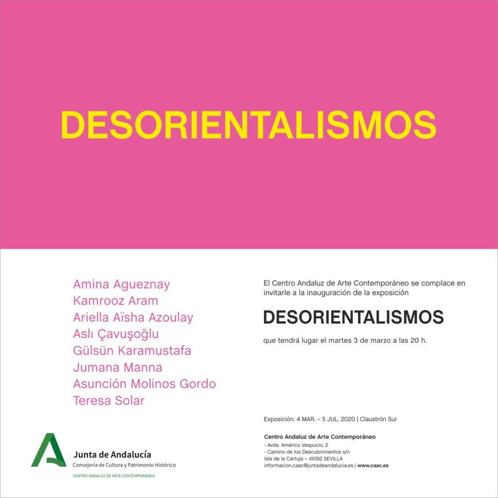 DESORIENTALISMOS